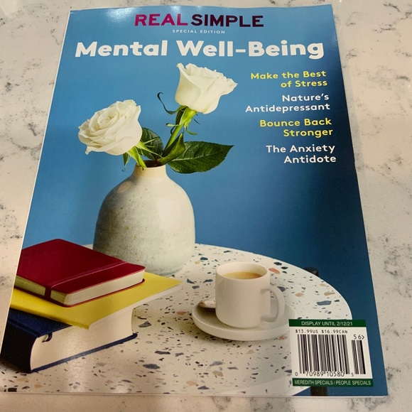 Real Simple Mental Well-Being Make Best Of Stress